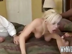 blond wife acquires one more kind of pecker