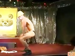 cowboy undress dancer fucking at club