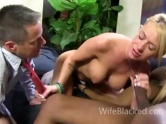 cuckold wife prefers darksome penis during the
