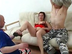 mom has anal sex with her son and his ally