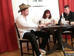 undress poker leads to hard three-some