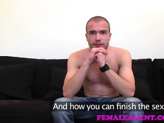femaleagent guy can not fuck mother i agent for