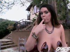 whipped cock juice and chocolate for alisons