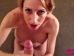 pov cook jerking ending in thick facial jizz flow