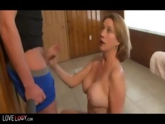 trio astonishing and outstanding cumshots,