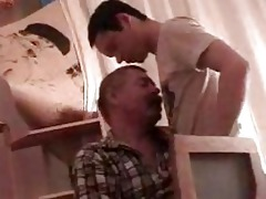 impressive twink gets his boner sucked by older