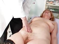 redhead granny ribald pussy stret...