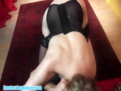 hot lapdance by cute czech mother i