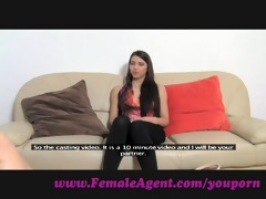 femaleagent. virgin lesbo