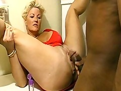 bbc makes floozy lori squirt