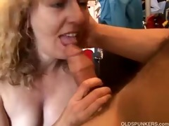 charming mature amateur can sucking dong and the