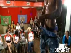 strip dancer screwed at hen-party