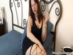 amazing breasty dark brown whore stripping