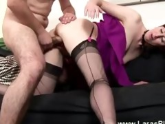 horny sweetheart fingerd and fucked by very