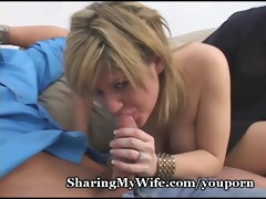 lustful wife likes fresh knob