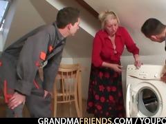 old widow services repairmen