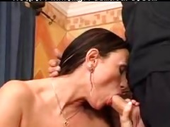 granny with large whoppers drilled by servant