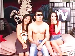[korea] youthful korea hard core threesome -