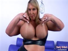 large boobs carol brown latex enjoyment