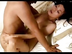 aged woman screwed creampie on the daybed
