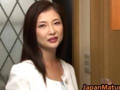 chisa kirishima aged oriental lady shows part4