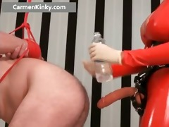 breasty large boobed latex slutty mother i part6