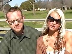 hawt blond wife bangs new knob