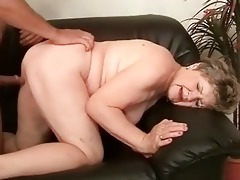 chubby grandma enjoying nasty sex