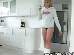 older blonde lady sonia getting private on the