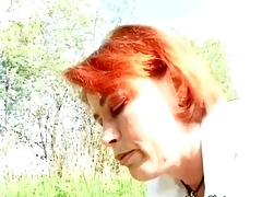 big boobed aged redhead acquires juicy twat part7