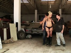 hot anikka lost in the desert acquires drilled by
