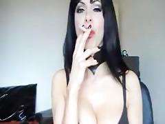 sexy webcam smoking mother i