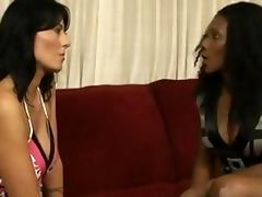 interracial lesbian babes