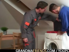 wicked granny pleases repairmen