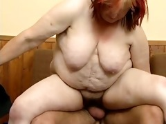 naughty fat woman acquires her curly wet bawdy