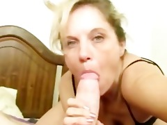 this lustful bitch is aged and has done this in