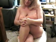 ribald granny farting on livecam