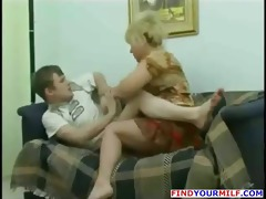 cougar mommy wish to fuck son