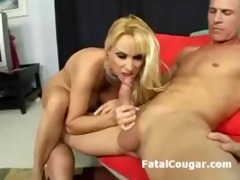 giant wobblers golden-haired milf fucked hard and