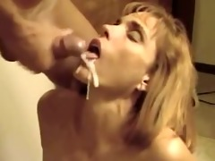 wife performs oral-service and acquires sperm