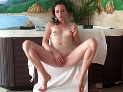 sylvia chrystalls masturbation in front of the