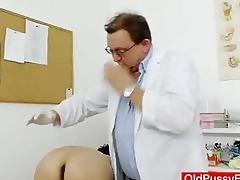redhead madam inward piddle gap medical-tool exam