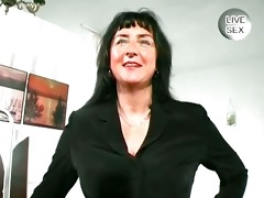 breasty aged shows her giant boobs part0