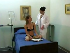 juvenile cutie and aged lesbo doctor