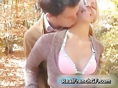 legal age teenager french bombshell forest