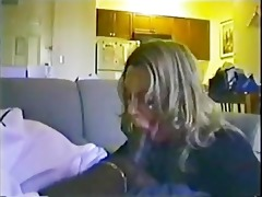 large tit wife engulfing large dark penis he is