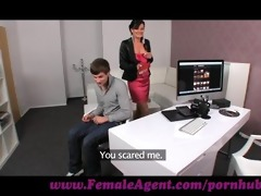 femaleagent. shy chap copulates like a demon
