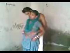 lustful punjabi wife sucks and copulates standing