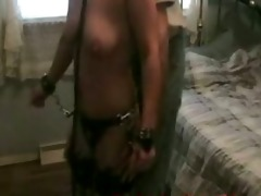 bounded wife receives fondled
