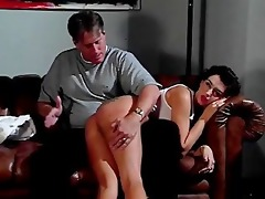 soaked t shirt models spanked - scene 7